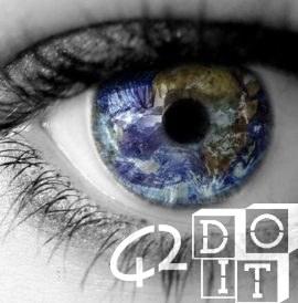 Schau in die Augen