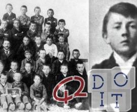 When Hitler was a child