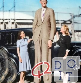 tallest man ever existed, rare movie of 1930