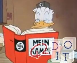 Donald Duck der Nazi, ein original Walt Disney aus dem Jahre 1943