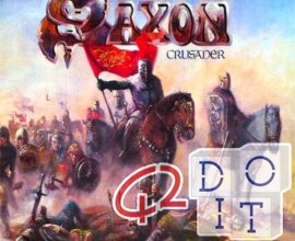 SAXON CRUSADER, TEXT AND TRANSLATIONS OF THE SONG