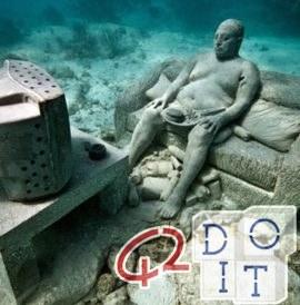 Canarias, aquí está el Museo del Atlántico: el primer museo submarino del mundo