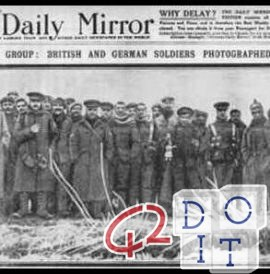Christmas truce of 1914 between Germans and British