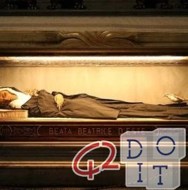 Blessed Beatrice I Estense, story of an incorrupt body
