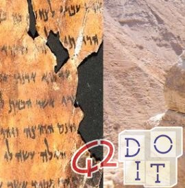 Dead Sea Scrolls, the oldest copies of biblical books, dated between 150 BC and the 70 d