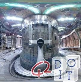 Токамак, магнитная тороидальная камера, ядерный термоядерный реактор