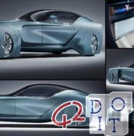 Rolls Royce 103EX Concept Design、未来の車