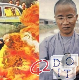 Thích Quảng Đức the Buddhist monk burned, his heart remained intact