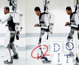 robotic exoskeleton controlled by thought