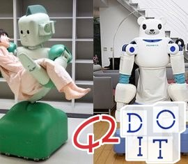 Robot, assistenziali, infermieristici, badanti, cura, osservazione, Giappone, indossabile, sicurezza, supporto,
