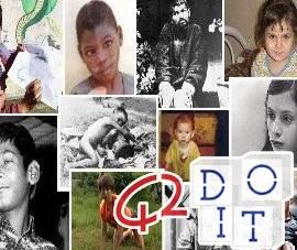 Bambini, selvaggi, abbandonati, sopravvissuti, selvatici, casi, documentati, animali, allevati,