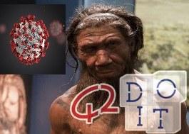 Формы, серьезные, Ковид, ассоциированные, гены, Неандерталец, Верона, исследование, Италия,